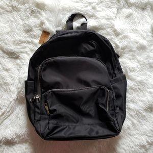 Handbags - 3 AM Black Microfiber Unisex Backpack